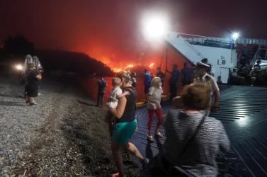 Slovensko poskytne pomoc Grécku pri hasení požiaru