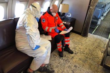 Do Nemecka letecky prevezú v sobotu slovenských pacientov