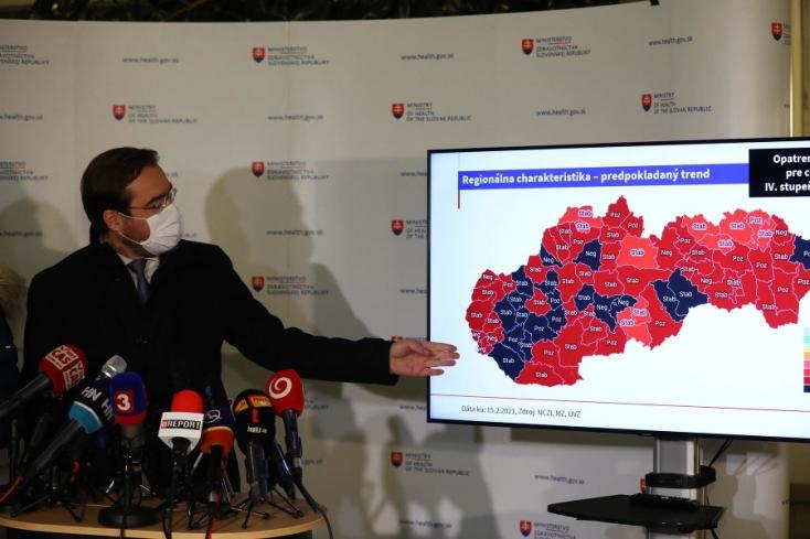 Na Slovensku je 19 okresov, kde je najväčšie riziko šírenia koronavírusu