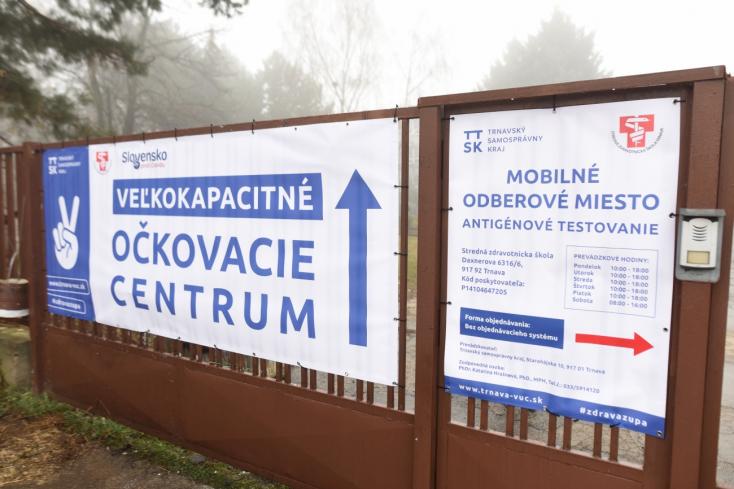 TTSK: Vo veľkokapacitnom očkovacom centre zaočkovali takmer 6000 ľudí