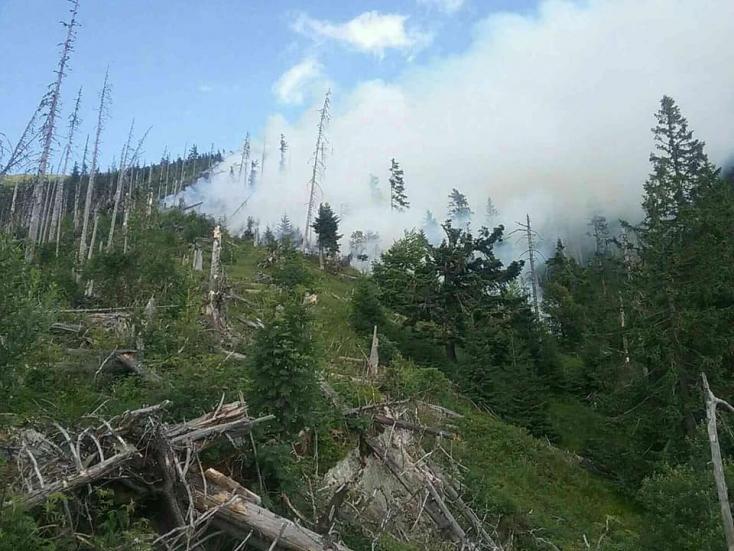 Hasiči likvidujú požiare v Bratislave i lese pri horehronskej obci Bystrá