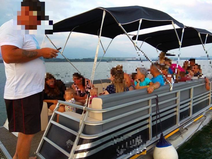 Nelegálna výletná loďka na Liptovskej Mare prepravovala rodiny s deťmi