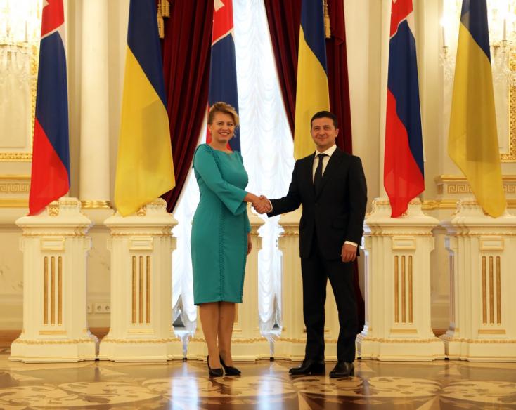 Čaputová na Ukrajine ocenila Zelenského reformy a snahu o vyriešenie konfliktu