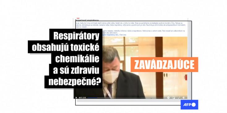 HOAX: Video s Vladimírom Krčmérym šírilo zavádzajúce informácie o respirátoroch
