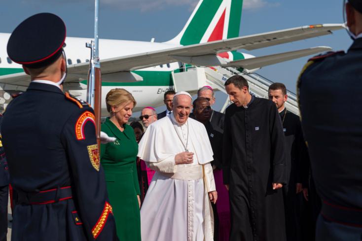 Svätý Otec František je na návšteve Slovenska (1. deň, súhrn)