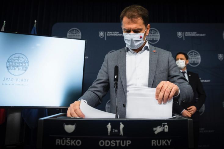 Premiér: Do dvoch týždňov spustíme masívne celoslovenské testovanie