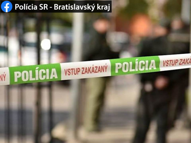 Na Žitavskej ulici v Bratislave strieľala na unikajúce vozidlo