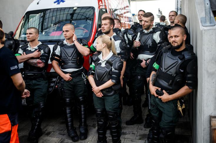 Polícia: Upozorňuje na opatrenia pred sobotňajším futbalovým zápasom v Bratislave