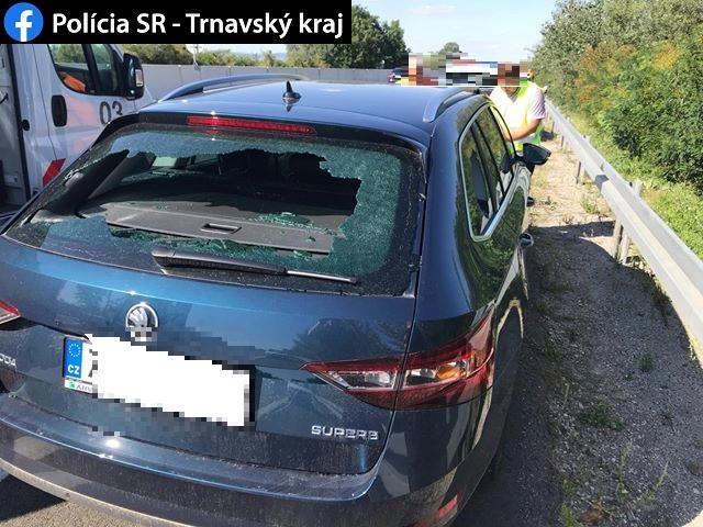 Bratislavčan rozbíjal na diaľnici D1 autá