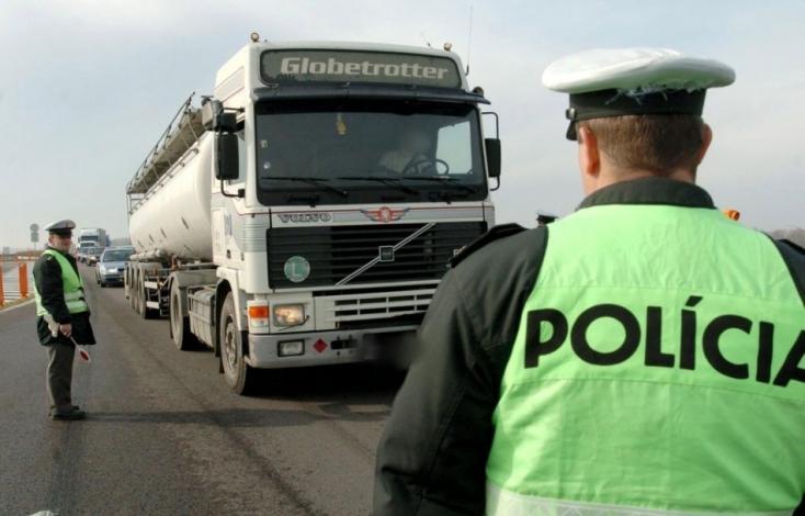 Vodič kamiónu mal v dychu takmer dve promile alkoholu
