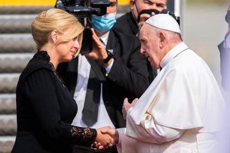 Prezidentka: Rozlúčila som sa so Svätým Otcom a aj s tým svojim