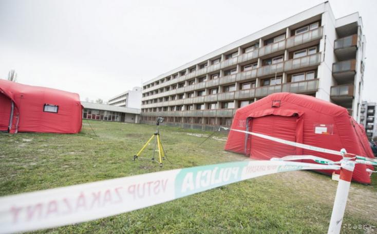V karanténnom centre v Gabčíkove sa nachádza 55 zahraničných študentov