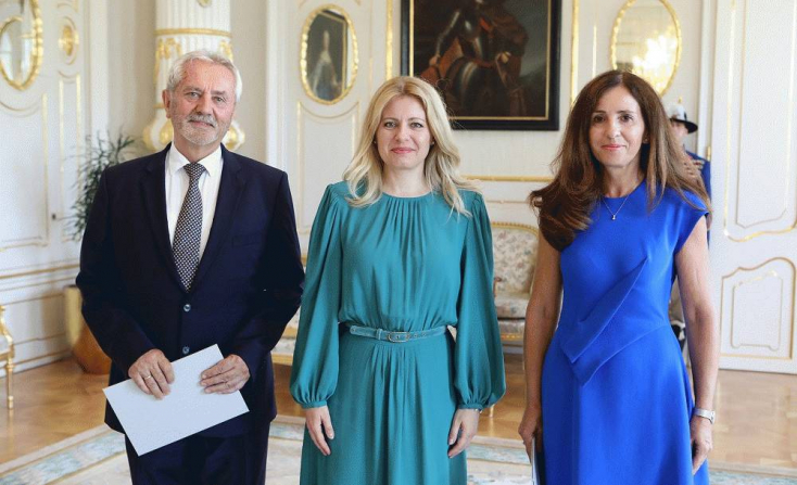 Prezidentka vymenovala za členov Súdnej rady E. Berthotyovú a L. Mészárosa