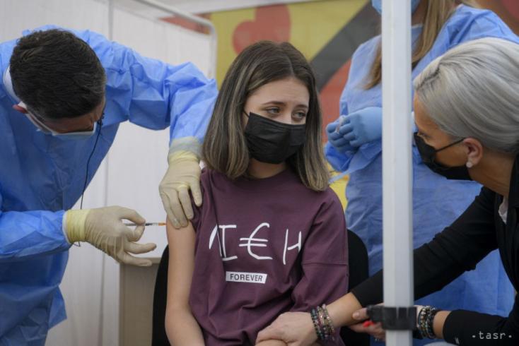 Možnosť očkovania proti COVID-19 sa otvorila aj pre deti od 12 rokov
