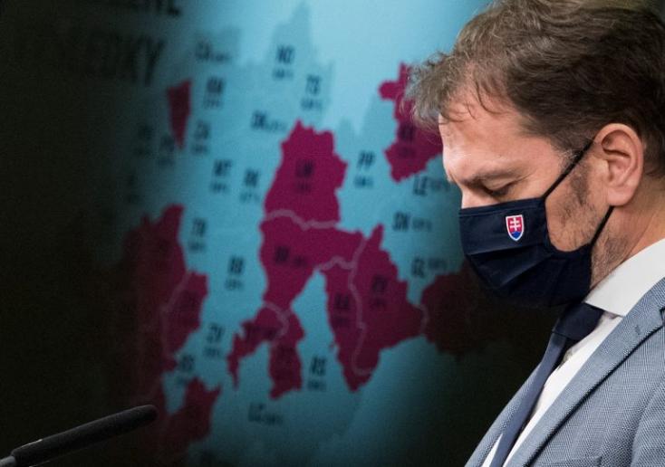 Na Slovensku je 20 okresov, kde je najväčšie riziko šírenia koronavírusu