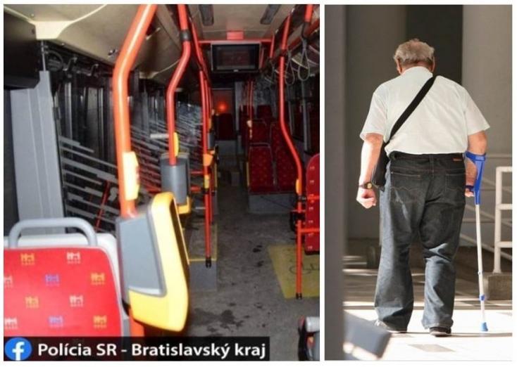 Polícia: Obvinila dvoch mužov, ktorí v autobuse okradli zdravotne postihnutého